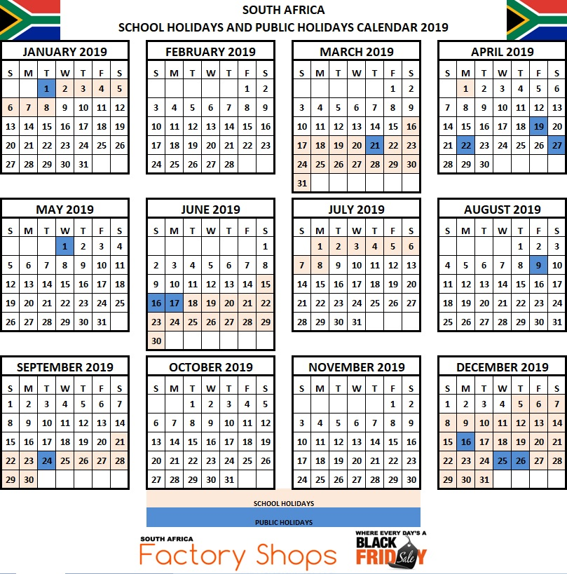 holiday calendar 2019